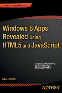 Cover Windows 8 Apps Revealed Using HTML5 and JavaScript