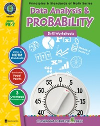 Cover Data Analysis & Probability - Drill Sheets Gr. PK-2