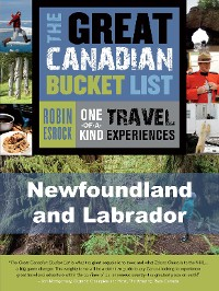 Cover The Great Canadian Bucket List — Newfoundland and Labrador