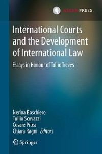 Cover International Courts and the Development of International Law