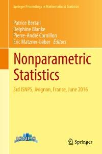 Cover Nonparametric Statistics