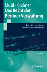 Cover Das Recht der Berliner Verwaltung