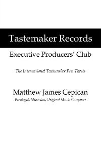 Cover Tastemaker Records Executive Producers' Club