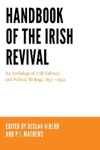 Cover Handbook of the Irish Revival