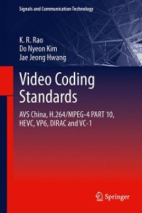 Cover Video coding standards