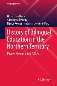 Cover History of Bilingual Education in the Northern Territory