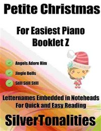 Cover Petite Christmas for Easiest Piano Booklet Z