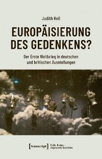 Cover Europäisierung des Gedenkens?