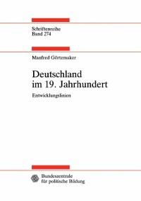 Cover Deutschland im 19. Jahrhundert
