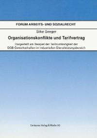 Cover Organisationskonflikte und Tarifvertrag