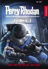 Cover Perry Rhodan Neo 192: Der letzte Blick auf Sol