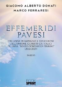 Cover Effemeridi Pavesi