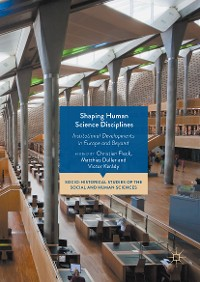 Cover Shaping Human Science Disciplines