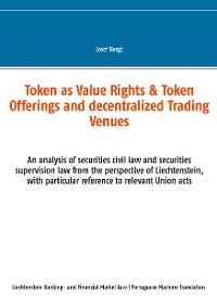 Cover Token como Direitos de Valor & Token Offerings e Centros Comerciais Descentralizados