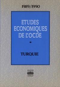 Cover Etudes economiques de l'OCDE : Turquie 1990