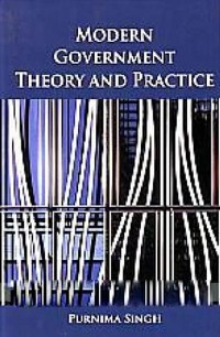 Cover Modern Government Theory And Practice