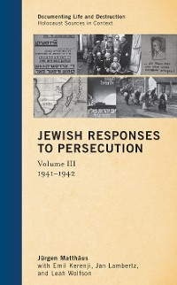 Cover Jewish Responses to Persecution
