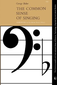 Cover Common Sense of Singing