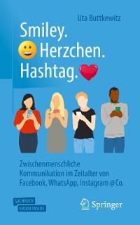Cover Smiley. Herzchen. Hashtag.
