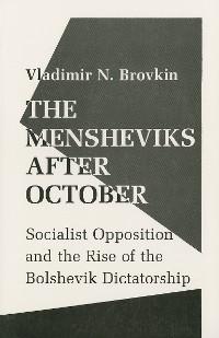 Cover The Mensheviks after October