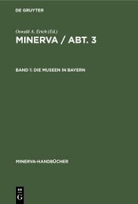 Cover Die Museen in Bayern