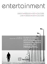 Cover Entertainment - Droit, Médias, Art, Culture 2017/2