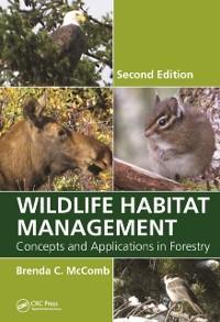 Cover Wildlife Habitat Management