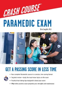 Cover Paramedic Crash Course with Online Practice Test