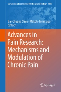 Cover Advances in Pain Research: Mechanisms and Modulation of Chronic Pain