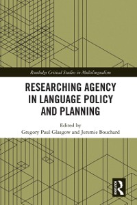 Cover Researching Agency in Language Policy and Planning