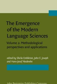 Cover Emergence of the Modern Language Sciences