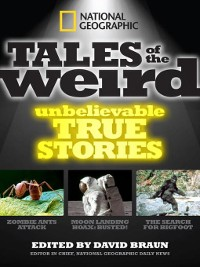 Cover National Geographic Tales of the Weird