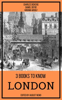 Cover 3 books to know London