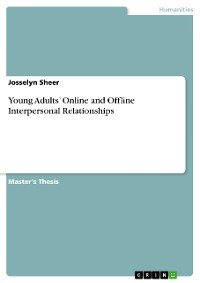 Cover Young Adults' Online and Offline Interpersonal Relationships