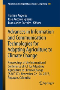 Cover Advances in Information and Communication Technologies for Adapting Agriculture to Climate Change
