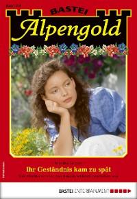 Cover Alpengold 316 - Heimatroman
