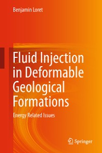 Cover Fluid Injection in Deformable Geological Formations