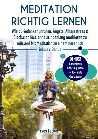 Cover MEDITATION RICHTIG LERNEN