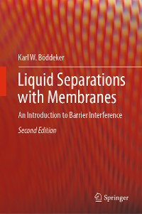 Cover Liquid Separations with Membranes