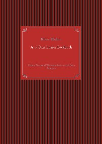 Cover Aus Oma Luises Backbuch
