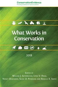 Cover What Works in Conservation 2018