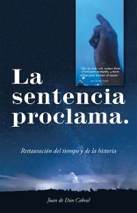 Cover La Sentencia Proclama.