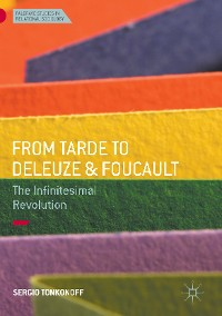 Cover From Tarde to Deleuze and Foucault