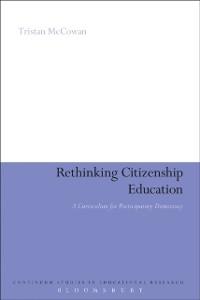 Cover Rethinking Citizenship Education