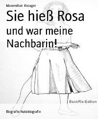 Cover Sie hieß Rosa