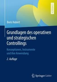 Cover Grundlagen des operativen und strategischen Controllings