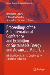 Cover Proceedings of the 6th International Conference and Exhibition on Sustainable Energy and Advanced Materials