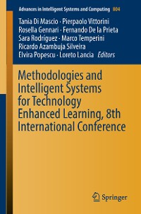 Cover Methodologies and Intelligent Systems for Technology Enhanced Learning, 8th International Conference