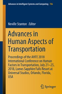 Cover Advances in Human Aspects of Transportation
