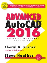Cover Advanced AutoCAD 2016 Exercise Workbook